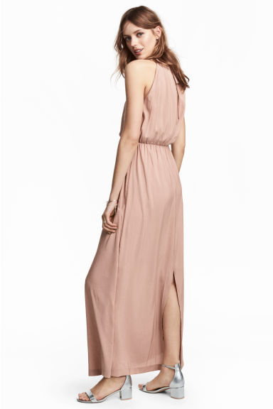 Maxi dress - Powder - Ladies | H&M CN