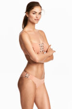Bikini bottoms - Powder beige - Ladies | H&M CN 1