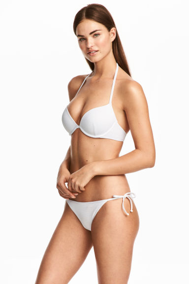 Tie-tanga bikini bottoms - White - Ladies | H&M CN 1