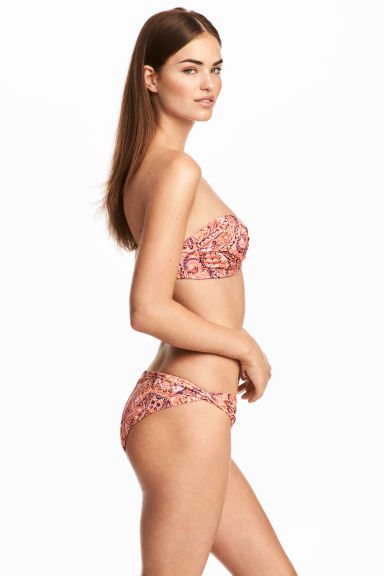 Bikini bottoms - Pink/Paisley - Ladies | H&M