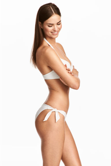 Bikini bottoms - White - Ladies | H&M 1