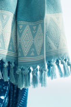 2-pack guest towels - Turquoise - Home All | H&M CN 1