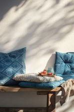 Patterned cushion cover - Turquoise - Home All | H&M CN 1