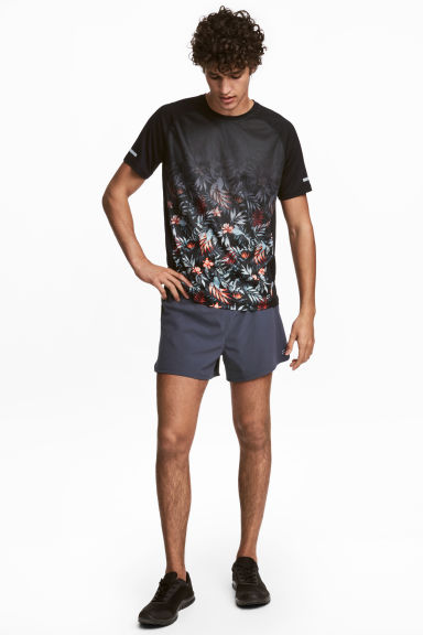 Running shorts - Dark grey-blue - Men | H&M 1