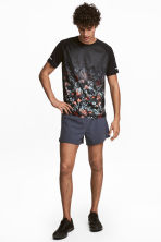 Shorts da running - Grigio-blu scuro - UOMO | H&M IT 1