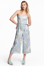 Strapless jumpsuit - White/Floral -  | H&M CN 1