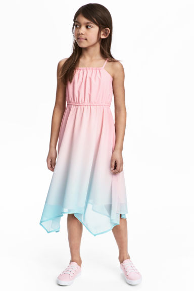 Sleeveless dress - Pink - Kids | H&M CN