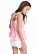Flared top - Light pink - Kids | H&M 1