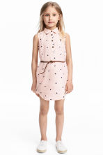 Sleeveless shirt dress - Light pink/Heart - Kids | H&M 1