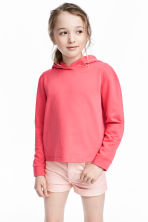 Sweat à capuche - Rose corail - ENFANT | H&M FR 1