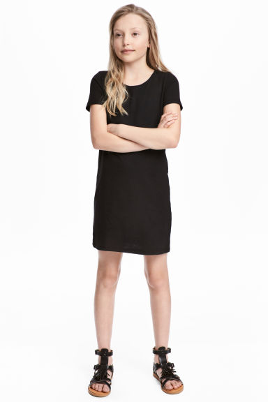T-shirt dress - Black - Kids | H&M