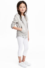 3/4-length leggings - White - Kids | H&M 1