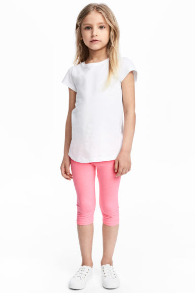 3/4-length leggings - Pink - Kids | H&M 1