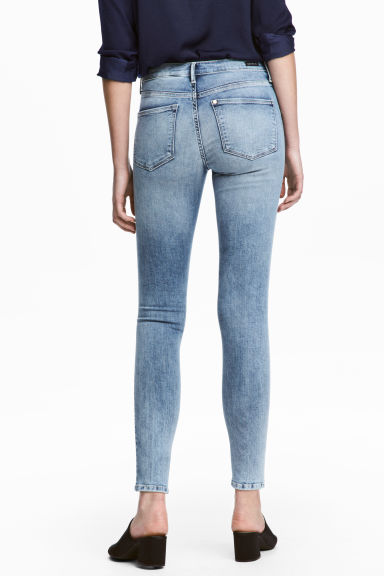 Shaping Skinny Ankle Jeans - Light denim blue - Ladies | H&M