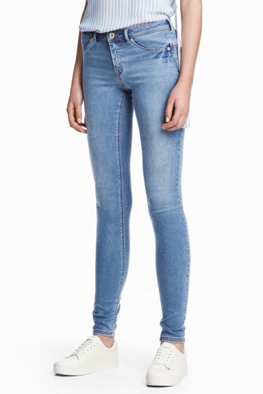 Feather Soft Low Jeggings - Bleu denim - FEMME | H&M FR 1