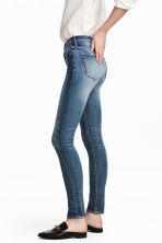 Skinny High Waist Jeans - Denim blue - Ladies | H&M 1
