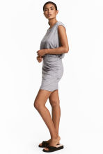 MAMA Nursing dress - Grey marl -  | H&M CN 1