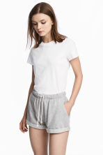 T-shirt in cotone - Bianco - DONNA | H&M IT 1