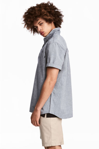 Camisa manga corta Regular fit Modelo