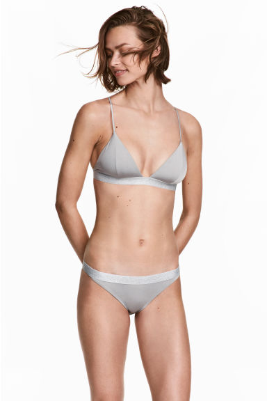 Bikini bottoms - Grey - Ladies | H&M 1