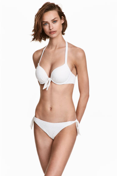 Slip bikini - Bianco - DONNA | H&M IT