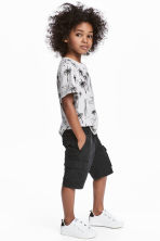 Cargo shorts - Black -  | H&M 1