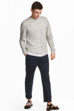 Chinos Relaxed fit - Dark blue - Men | H&M 1