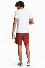 Sports shorts - Rust red - Men | H&M CA 1