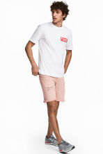 Short en jean - Denim rose clair - HOMME | H&M CH 1