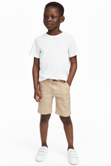 Chino shorts - Beige - Kids | H&M 1