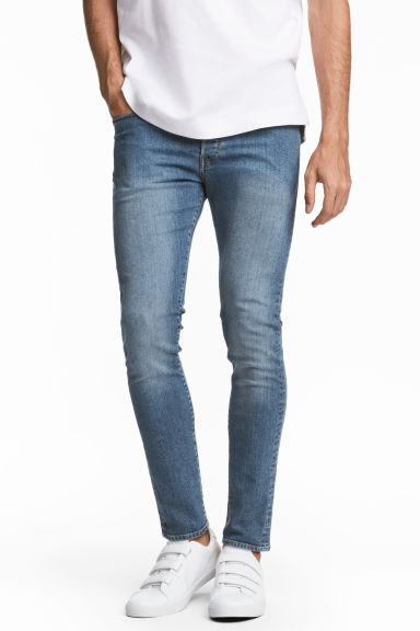 Skinny Low Jeans - Denim blue -  | H&M 1