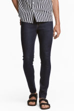 Skinny Low Jeans - Blu denim scuro - UOMO | H&M IT 1