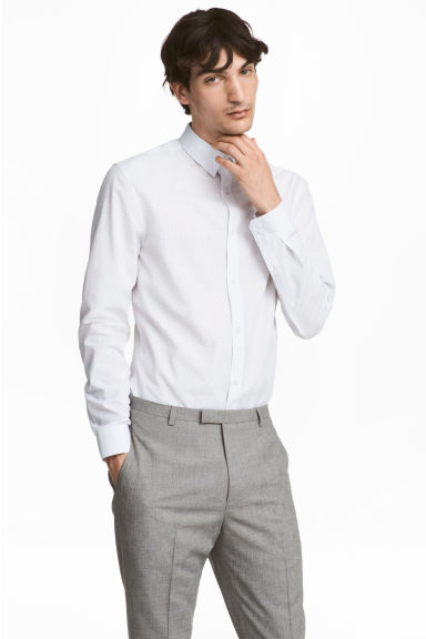 Easy-iron shirt Slim fit Model
