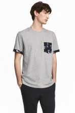 T-shirt - Grey marl - Men | H&M 1