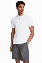 Polo shirt - White - Men | H&M 1