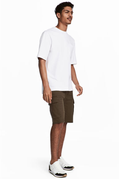 Cargo shorts - Dark Khaki - Men | H&M CN