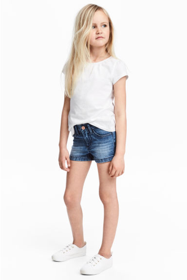 Denim shorts - Denim blue - Kids | H&M CA 1