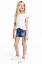Short en jean - Bleu denim -  | H&M FR 1