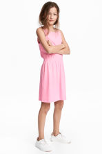 Jersey dress - Pink - Kids | H&M CN 1