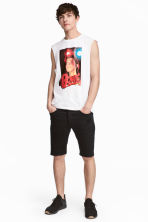 Biker shorts - Black - Men | H&M 1