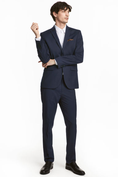 Suit trousers Slim fit Model