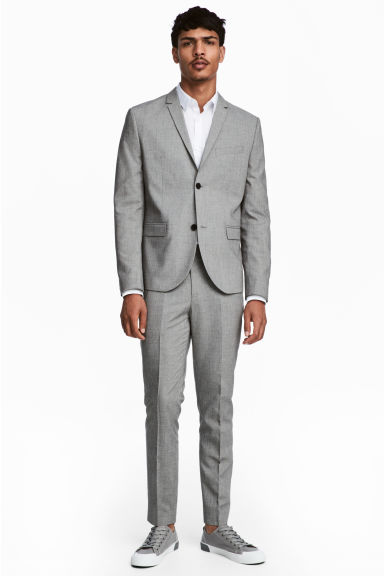 Suit trousers Skinny fit Model