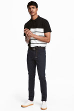 Twill trousers Slim fit - Dark blue - Men | H&M CN 1