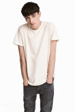 Slub jersey T-shirt - White - Men | H&M 1