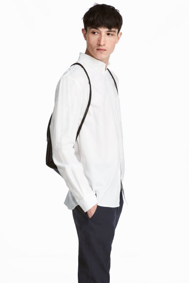 Oxfordskjorta Regular fit - Vit - HERR | H&M FI