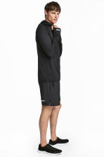 Ultra-light running shorts - Black - Men | H&M 1
