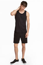 Short sports shorts - Black - Men | H&M 1