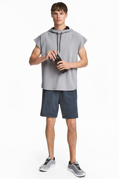 Short sports shorts - Dark grey-blue - Men | H&M 1
