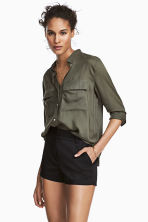 Shorts corti stretch - Nero - DONNA | H&M IT 1