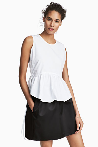 Short skirt - Black - Ladies | H&M CA